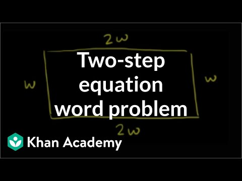 Application Problems with Equations with One Variable