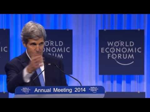 Sec  Kerry speech in Davos 2014 Palestine part