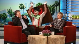 Ellen Scared Eric Stonestreet Even Better!