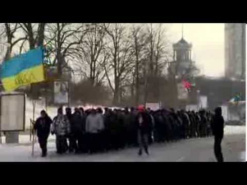 Inside Ukraine's protest town