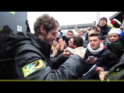 Valentino Rossi en Monza Rally Show 2013