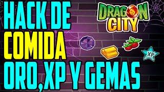 NUEVO HACK PARA DRAGÓN CITY GEMAS / ORO / COMIDA / Y
