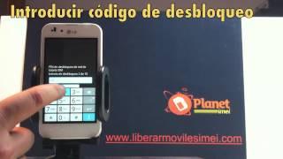 Como Liberar Movil LG P970 Optimus
