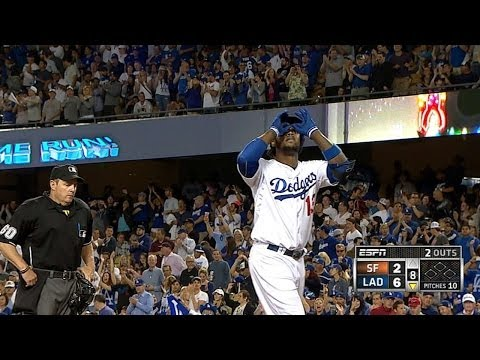 Kemp, Hanley each hit two homers for Dodgers