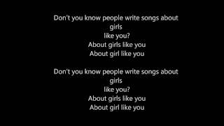 The Naked And Famous Girls Like You LYRICS
