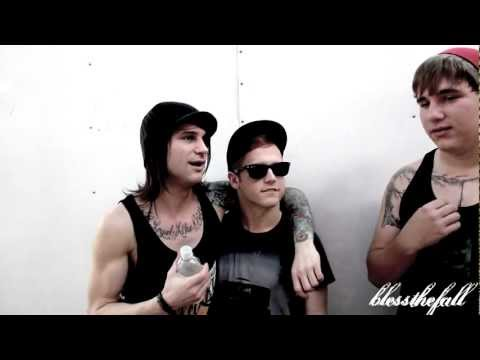 Bless The Fall Interview / Beau Bokan / Tampa, Florida 2012