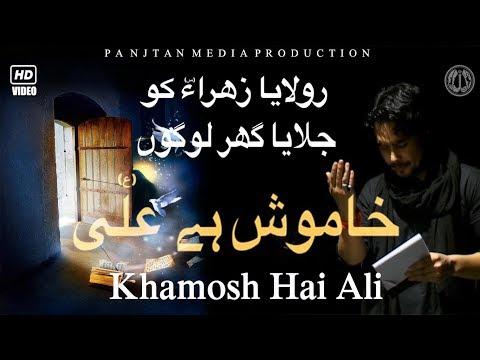 تاريخى نوحه خاموش على (ع) | Asif Raza Khan's 2012-13 HD 1080p
