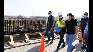 الرئيس السيسي يتفقد عددا من مشروعات