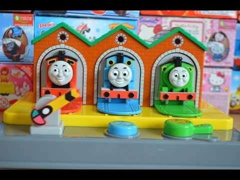 Thomas And Friends Fun Push Toy Thomas The Tank James Percy Kinder Surprise Fun