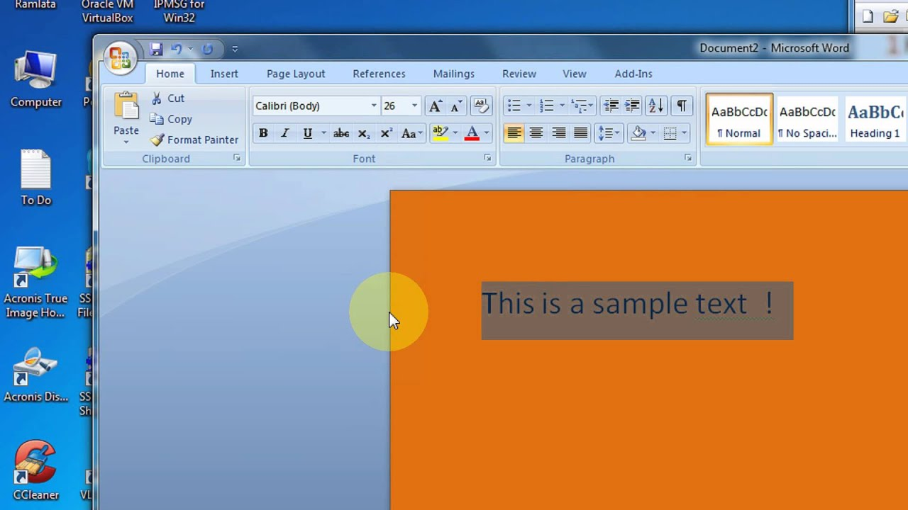 How To Print Background In Microsoft Word 2007 Amp 2010 Step