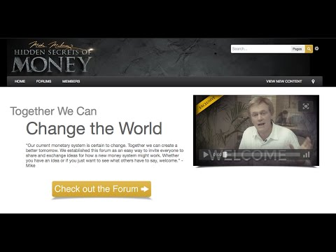 Mike Maloney's Forum For A Monetary Solution - Bitcoin? Gold? Silver?