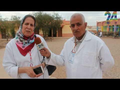 فيديو : القافلة الطبية التي نظمتها جمعية أمجاد الزاوية بشراكة مع جمعية التضامن لمحاربة داء السيدا