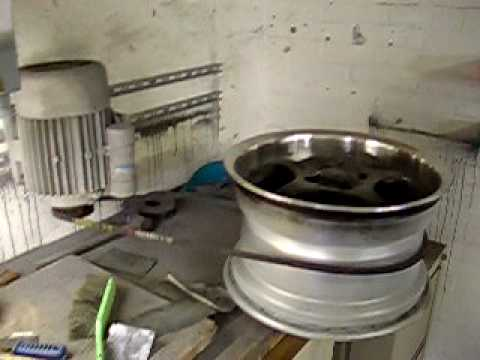 Wheel Polish Machine Diy Youtube