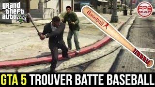 GTA 5 // Trouver La BATTE DE BASEBALL (Localisation
