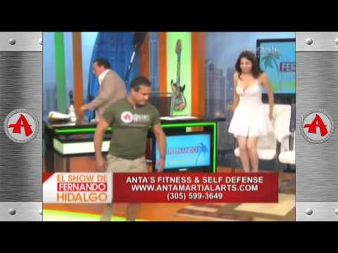 Mega TV - El Show de Fernando Hidalgo - 08/01/2013 - Krav Maga - Self Defense for Women