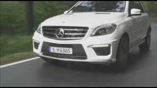 Vorstellung: Der neue Mercedes ML 63 AMG mit V8-Biturbo 2012 videos