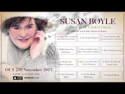 Susan Boyle 'Home For Christmas' PRE-ORDER NOW