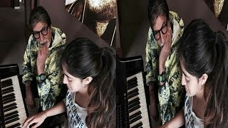 Amitabh Bachchan Impressed With Granddaughter's Piano Skill