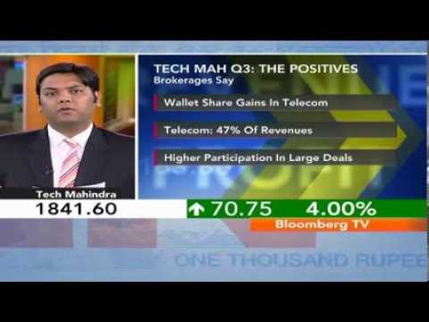 In Business- Tech Mahindra Q3 $ Rev Up 4.4%, Beat Est