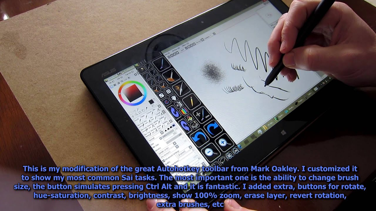 Drawing Lines With Tablet : Asus vivotab tf c tablet drawing painting review