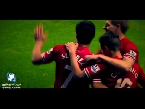 Super-trick Luis Suarez Liverpool  VS Norwich - 2014 -HD
