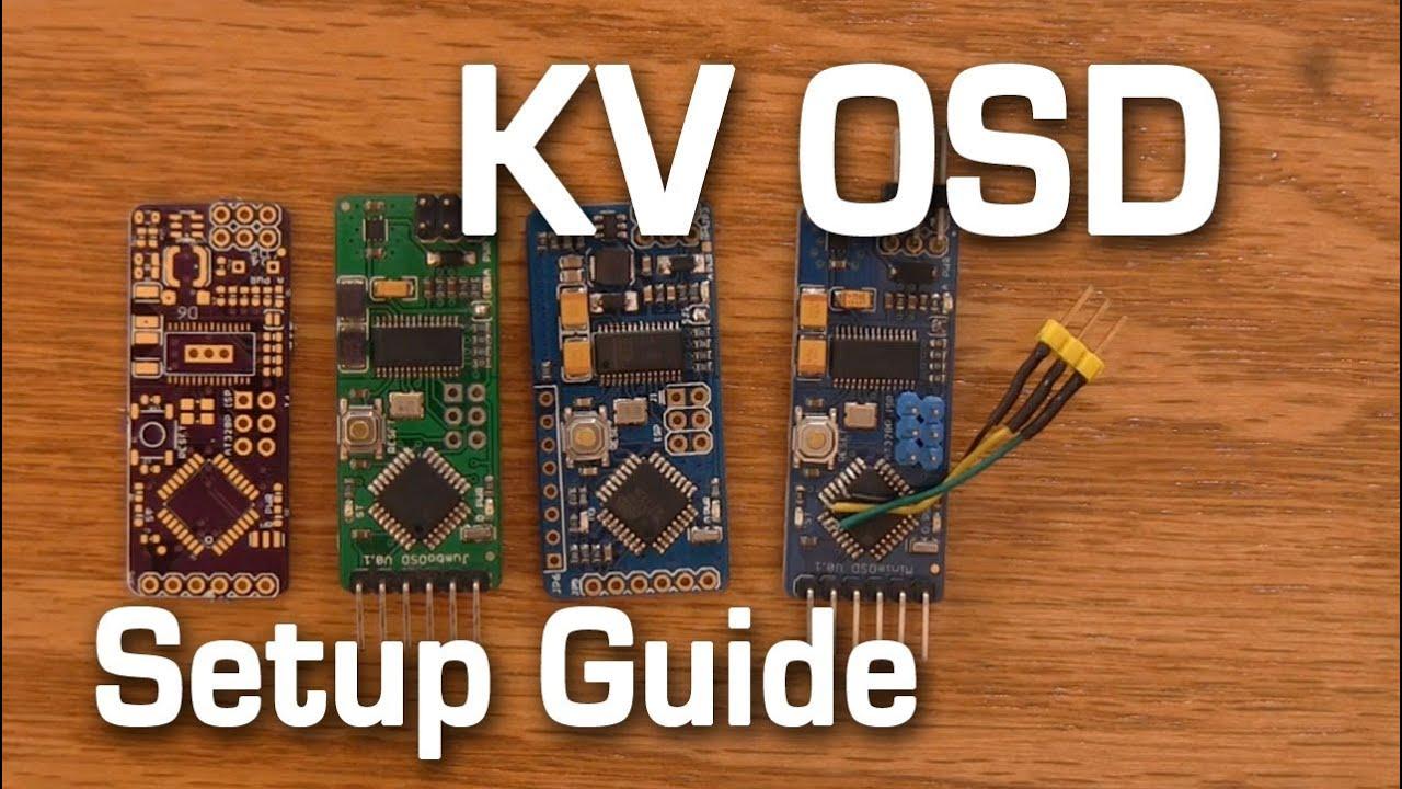 How To Setup Kv Osd Minimosd Naze32