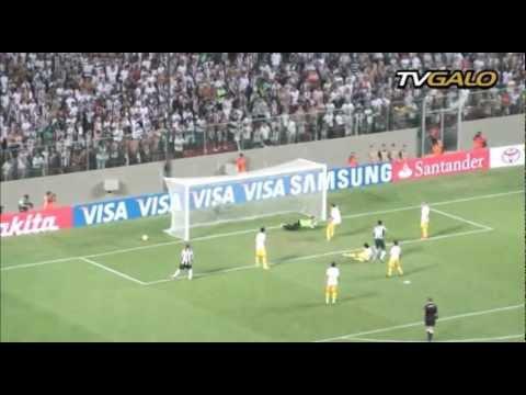 07/03/2013 Galo vence a 3ª seguida na Libertadores e dispara na liderança do Grupo 3