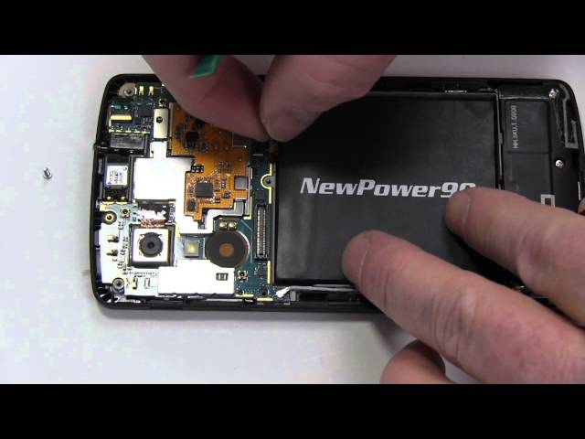 How to Replace Your Nexus LG D821 Battery