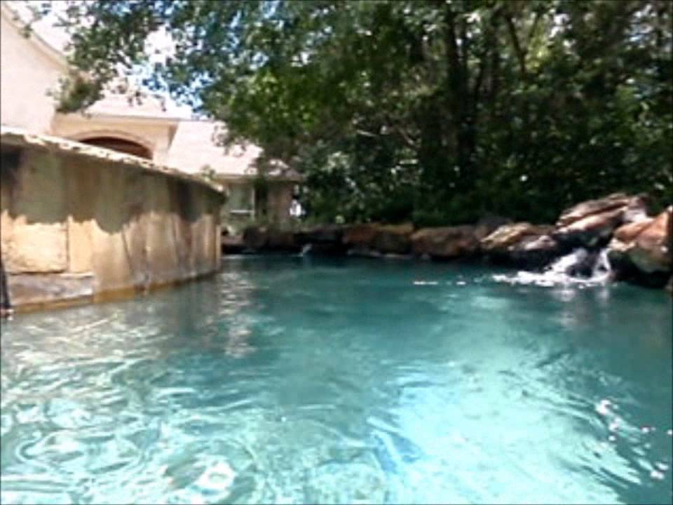 Backyard Lazy River II  YouTube
