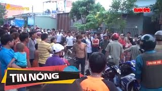 Nam thanh niên bất ngờ bị đâm nhiều nhát khi đang đi trên đường | Tin nóng 24h