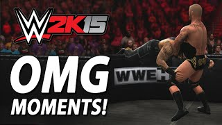 WWE 2K15: Superstar Specific OMG Moments! (Concept)