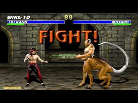 Mortal Kombat 3 Liu Kang Gameplay Playthrough