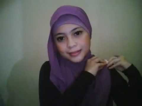 Hijab tutoriaL by dentist_nia part 1