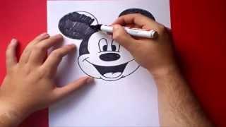 Dibujar a Mickey Mouse