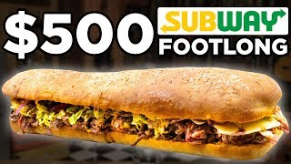 $500 Subway Footlong Taste Test
