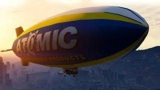 Grand Theft Auto 5:Tutorial Atomic Blimp Como Conseguir
