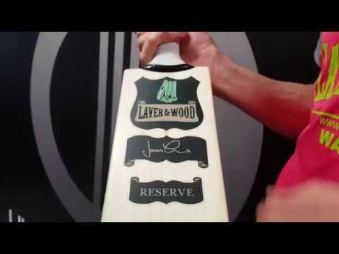 Laver & Wood Conqueror Reserve Cricket Bat