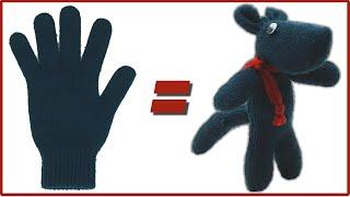 Como hacer un muñeco con un guante