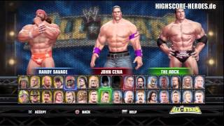 WWE All Stars: PS3 + 360 Unlock Everything Code + Every