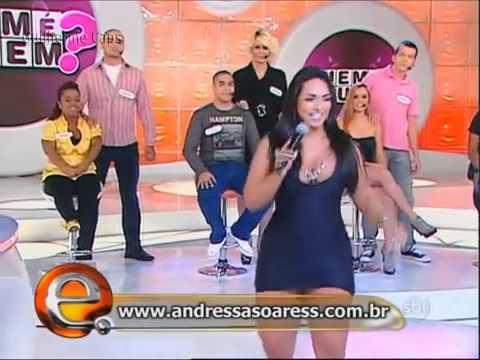 Andressa Soares   Mulher Melancia   Eliana   SBT   Rebolando   YouTube
