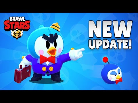 Brawl Stars New Update New Brawler MR. P | Brawl Stars Funny moments, Fails and Glitches
