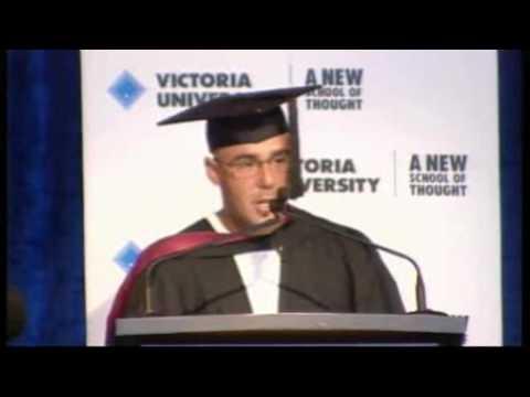Daniel Mallia, VU Valedictory Address 31 May 2010