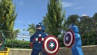 LEGO Marvel Super Heroes (PS4) Captain America Free Roam