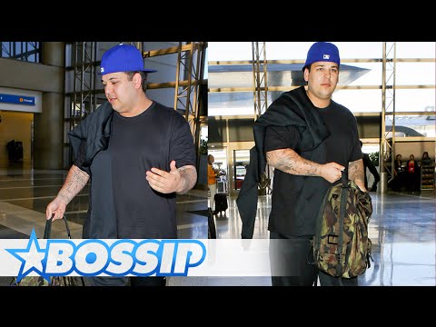 Rob Kardashian Looks To Have Gained MORE Weight
