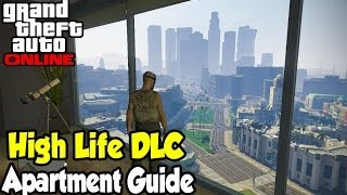 GTA 5 Online All 5 NEW Apartments Guide! (View, Price