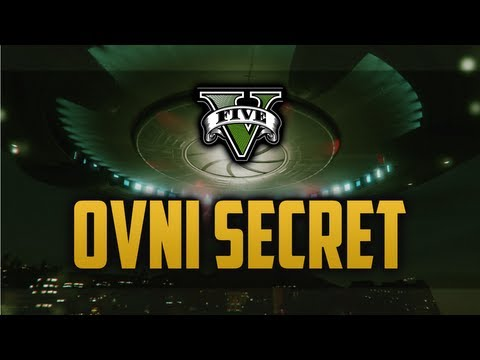 Le secret de GTA 5 - OVNI au Mont Chiliad / Base Militaire (Jetpack ?)
