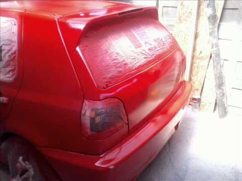VW GOLF GL MK3,TUNING  MADE IN CHILE