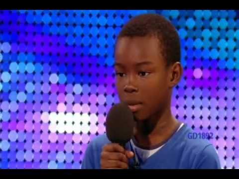 !!9-YR-OLD BOY 'MALAKI PAUL' SINGS 'BEYONCE'S' 'LISTEN' ON 'BRITAIN'S GOT TALENT'!!
