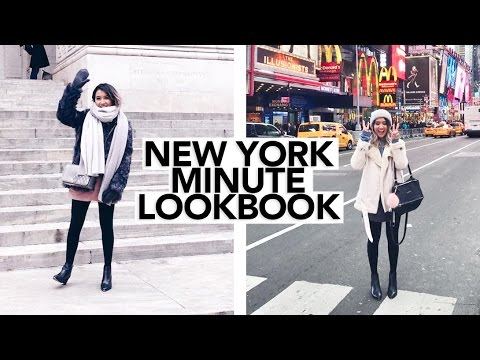 Winter Lookbook 2016 in New York || Sylvia Jade