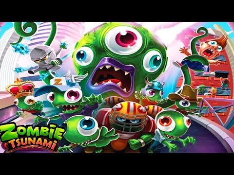 Zombie Tsunami - Funny Eat Police Officer Zombies Gameplay
